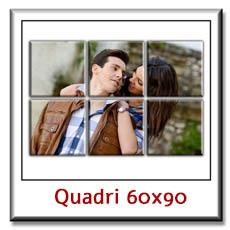 Quadro su tela con foto personalizzato su pannelli cm 60 x 92